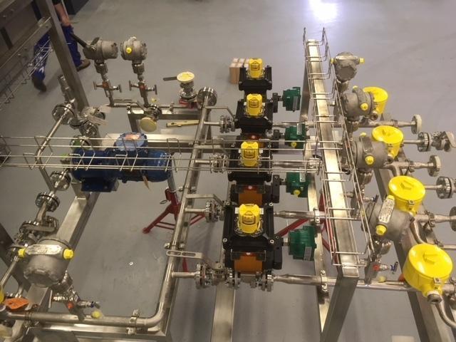 CIP installatie | Geautomatiseerde reiniging van uw productieproces
