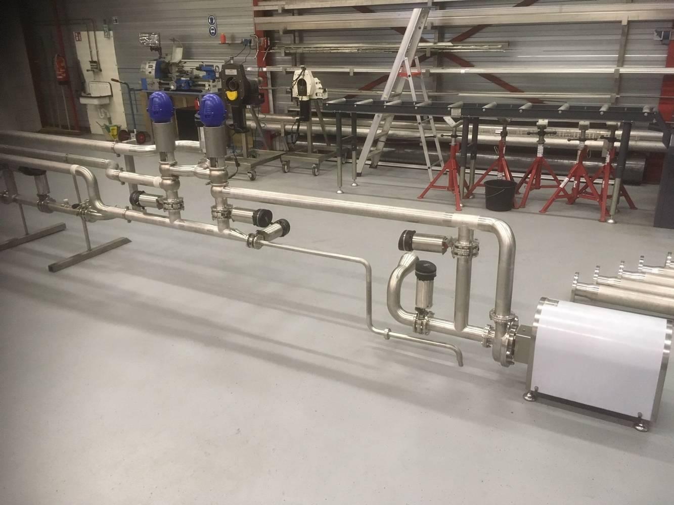 Manifold voor kaasfabriek
